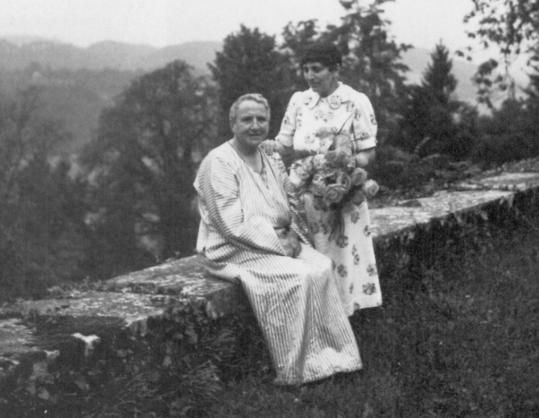 """Gertrude and Alice  """"In a world of 'no' Alice is my 'yes'""""  -Gertrude Stein"""