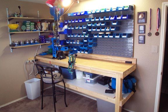 reloading bench | Reloading bench after moving