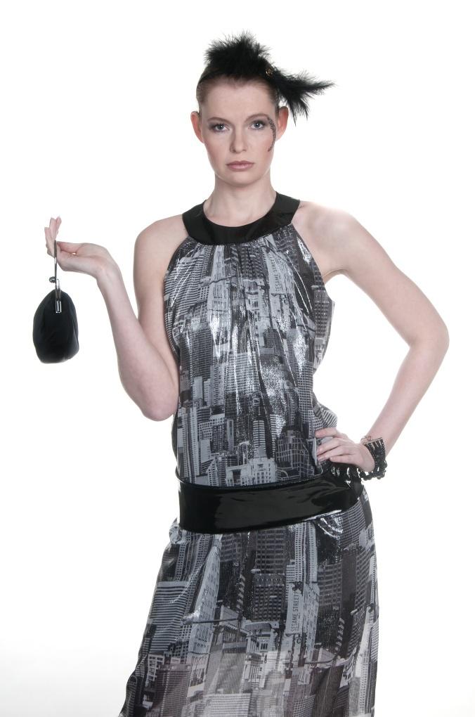 dress: Miki Zachevar  headband: Libka Safr