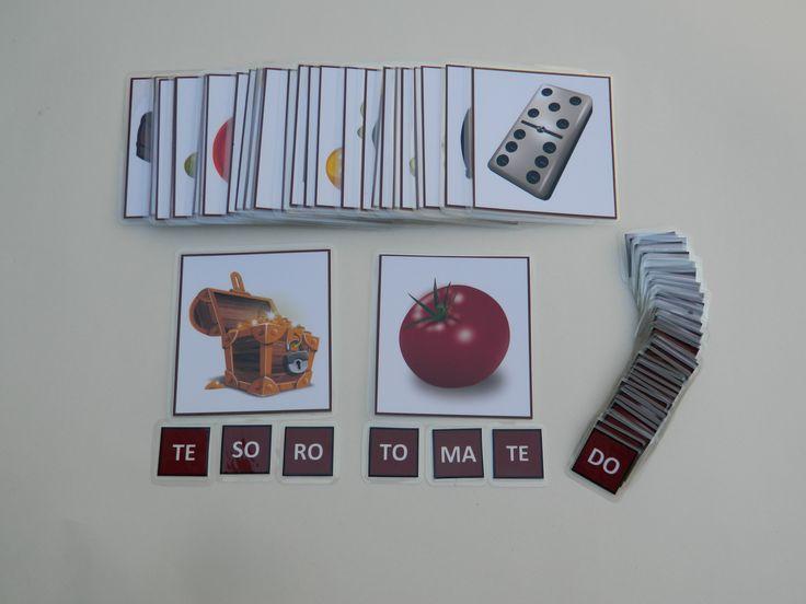 Sílabas móviles (palabras trisílabas)