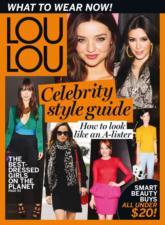 Winks partnered up with LOU LOU magazine in order to give you services worth indulging on.
