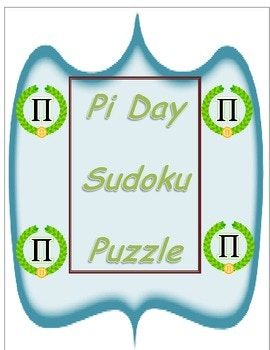 """The rules are a little different from standard Sudoku, in part because the blocks are jigsaw pieces rather than 3×3, and in part because the first 12 digits of π are used instead of the standard 1-9. Each row, each column, and each colored block (""""jigsaw region"""") contains the first 12 digits of pi 3 1 4 1 5 9 2 6 5 3 5 8 in some order."""