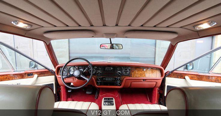 Rolls Royce Camargue rouge intérieur / Rolls Royce / Photos Classic / Les plus belles photos de GT et de Classic. - V12 GT - L'émotion automobile