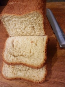 This is the best breadmaker white bread! The taste is smack-tacular!