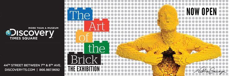 Art of the Brick. Nathan Sawaya, lego master builder,  http://brickartist.com/