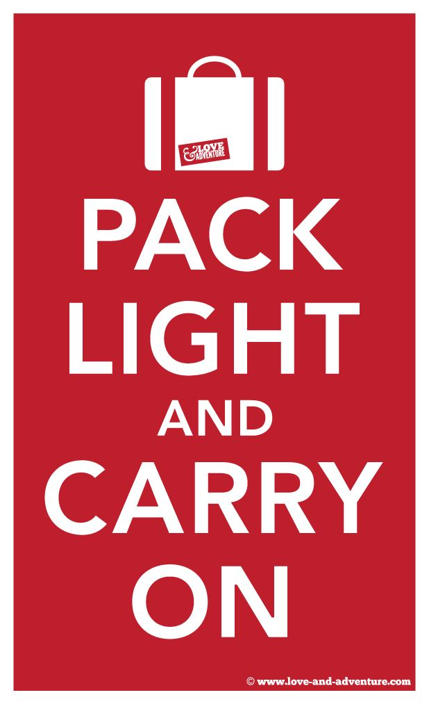 #2 Pack light (but smart) | 6 Tips for Making the Most of Airport Travel This Thanksgiving