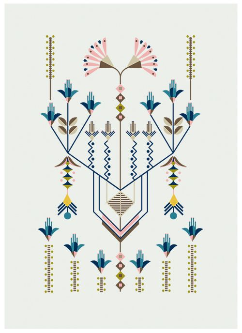 Love the work of Carolina Melis. Her Flower Series is pared back and super stylised. Carolina worked as a choreographer before starting a career in design. She graduated at Central St Martins in London where she specialised in animation direction and illustration, and has won countless awards. Beautiful stuff.