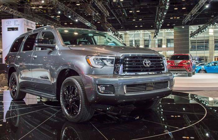 2018 Toyota Sequoia Aggressive SUV Model with Engine Performance