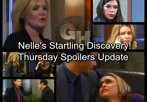 General Hospital Spoilers: Thursday, February 15 Update – Andre's Surprise – Griffin Faces Ava's Wrath – Nelle's Startling Discovery | Celeb Dirty Laundry