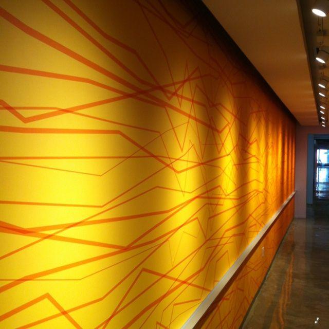 Bright Graphic Wall