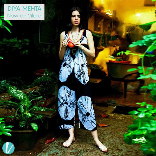 Diya Mehta's collection is all about easy-going, transitional pieces that can take you from Spring to Fall! Shop her Collection here: #diyamehta #designerwear #premium #practicalclothing #seasonalclothing #vilara