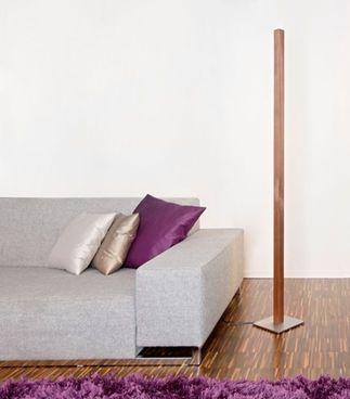 Stückholz Eiger Stehlampe #Lampe #Leuchte #Holz #Nussbaum #Wohnen #Wohnzimmer #Einrichtung #Galaxus