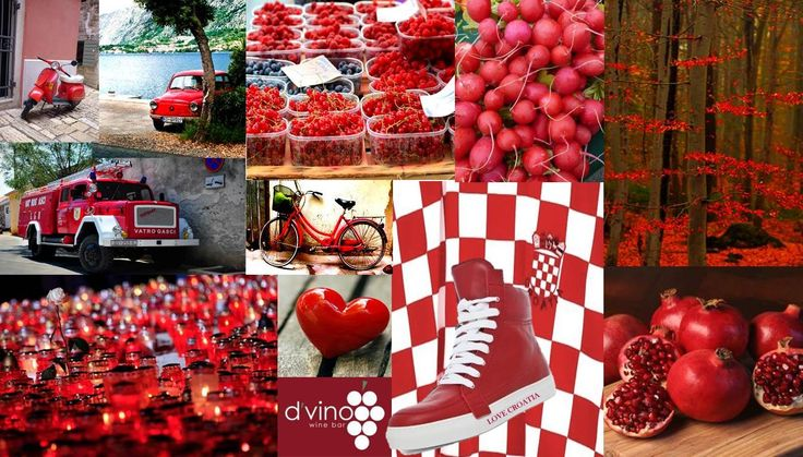 More Of Croatia's Bold Red Colours