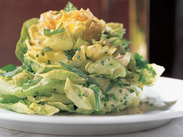 Bibb lettuce salad: Easter Recipes, Recipes Bibb, Side, Food, Salad Recipe, Lettuce Salads, Healthy, House Vinaigrette, Bibb Lettuce