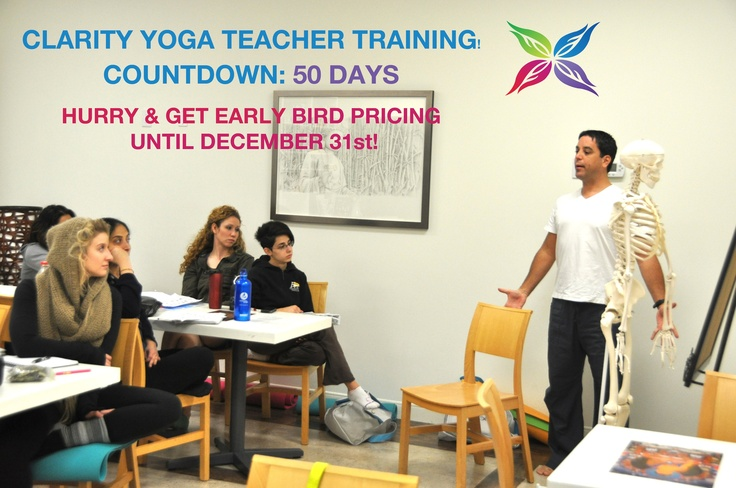 All right Yogis! The Countdown is on!   50 days until YTT 2013!   Hurry and get Early Bird pricing until December 31st!