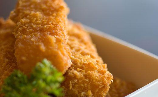 Crispy Cajun Fish Fillets (360 calories/serving)