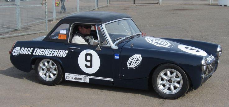 MG Midget (Class A - Standard cars on road tyres.) (CC)
