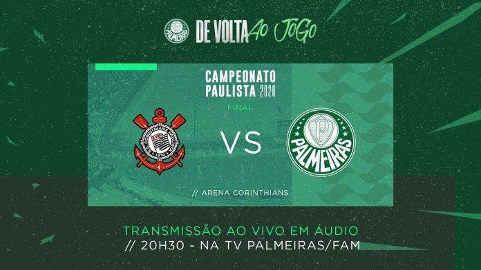 Assistir Corinthians X Palmeiras Futebol Ao Vivo Tv Palmeiras Campeonato Paulista 2020 Futemax Campeonato Paulista Final Paulista Futebol Ao Vivo