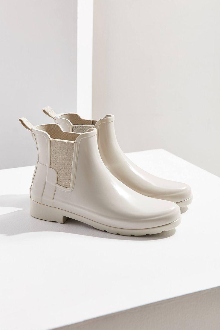 Slide View: 1: Hunter Original Refined Chelsea Rain Boot
