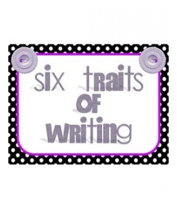 six traits of writing definitions Student writing needs, as measured on the oaks six traits scoring rubric may  increase  (2003) define total words written (tww) as the sum of words.