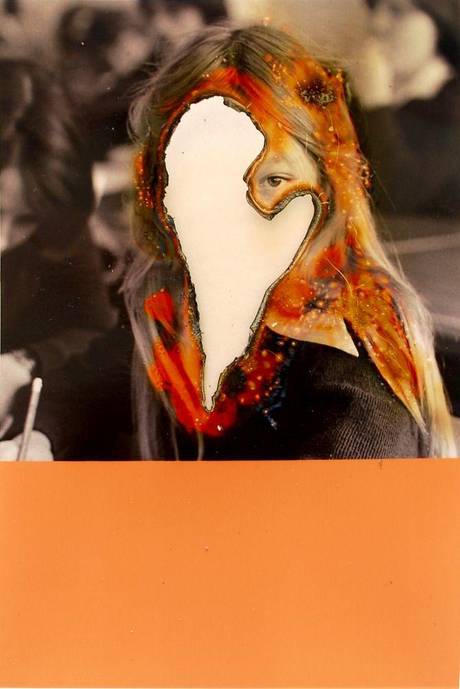 Lucas Simoes Burned Photographs   YOURE NOT HUMAN
