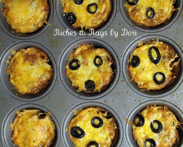 Riches to Rags* by Dori: Mini Mexican Pizzas
