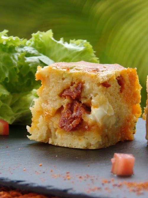 Gâteau salé au chorizo/Kiri - Patio'nnement cuisine