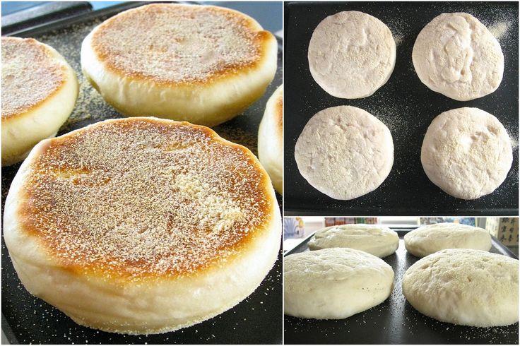 Sourdough English Muffins from start to beautiful finish.