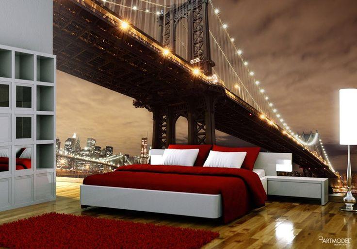 New York Brooklyn Köprüsü Duvar Kağıdı