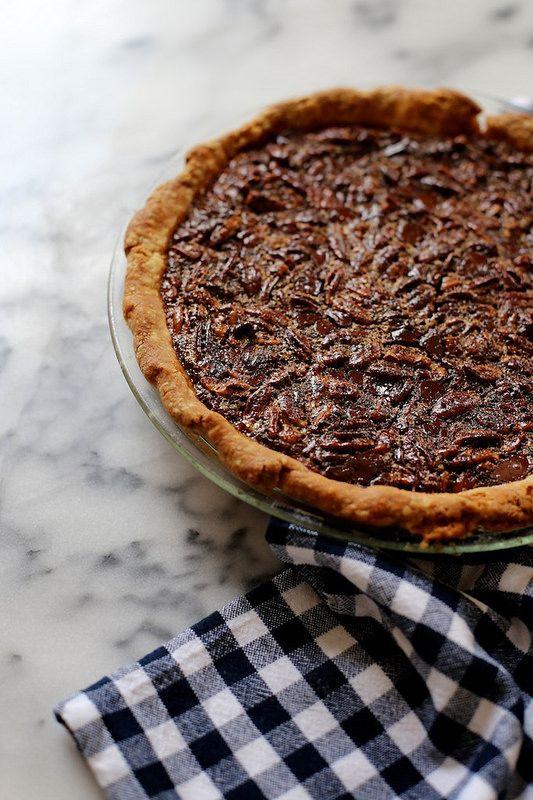bourbon pecan pie with dark chocolate | Coffee Shop Ideas | Pinterest ...