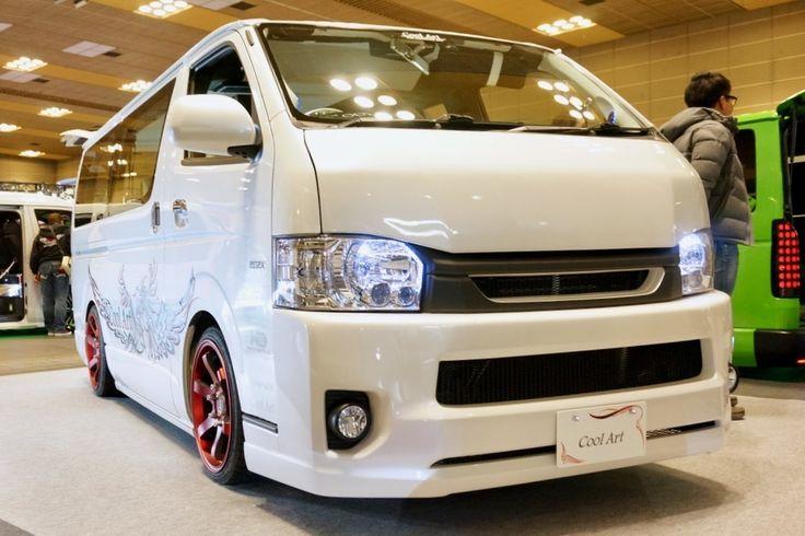 Coolart クールアート 「Coolart」   ベース車両:ハイエース200系  クールアートのコンセプトカー「Coolart」。   大阪オートメッセ2017 出展車両