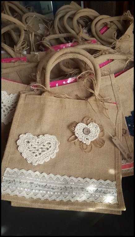 hesian burlap bag