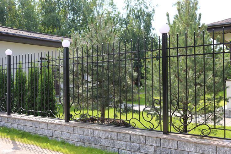 Заборы металлические от 4 450р, подробнее: http://www.metal-made.ru/catalog/fence/