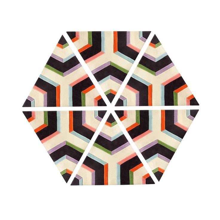 die besten 25+ hexagon area ideen auf pinterest | holzarbeiten ... - Deko Ideen Hexagon Wabenmuster Modern