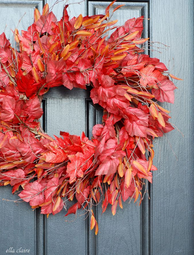 The Wreath Trick | Autumn Leaves