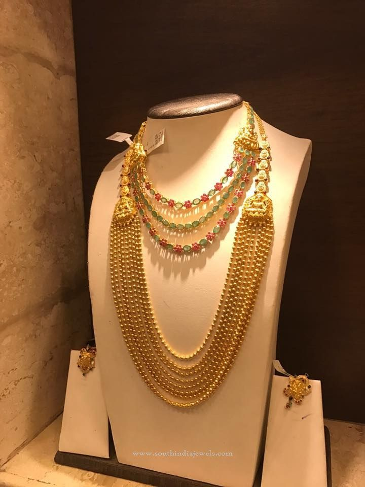 Latest Gold Bridal Jewellery Collections, Bridal Jewellery Collections 2016, South Indian Bridal Jewellery Collections.