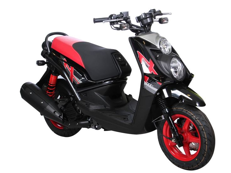 Motoneta Yamaha Bws 125x Negra Motard 2013