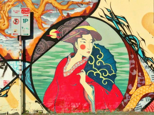 One cannot talk enough about Melbourne's street art culture. It is vibrant, it is energetic and it is everywhere! Don't be surprised if you stumble upon a gorgeous geisha staring you do…