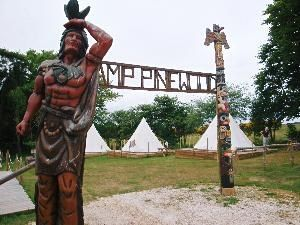 Pinewood Holiday Tipi Camp, Scarborough, Yorkshire