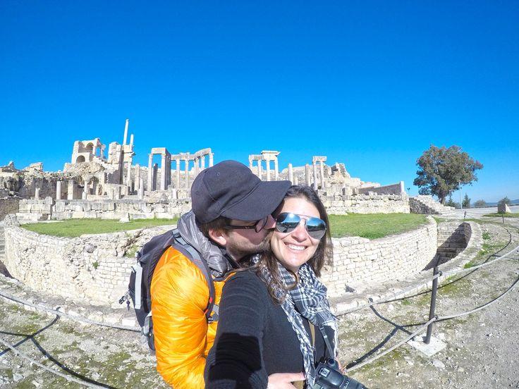 Dougga constitui uma das ruínas romanas mais bem preservadas do mundo e é uma visita obrigatória na Tunísia, sendo Património da Humanidade da Unesco.