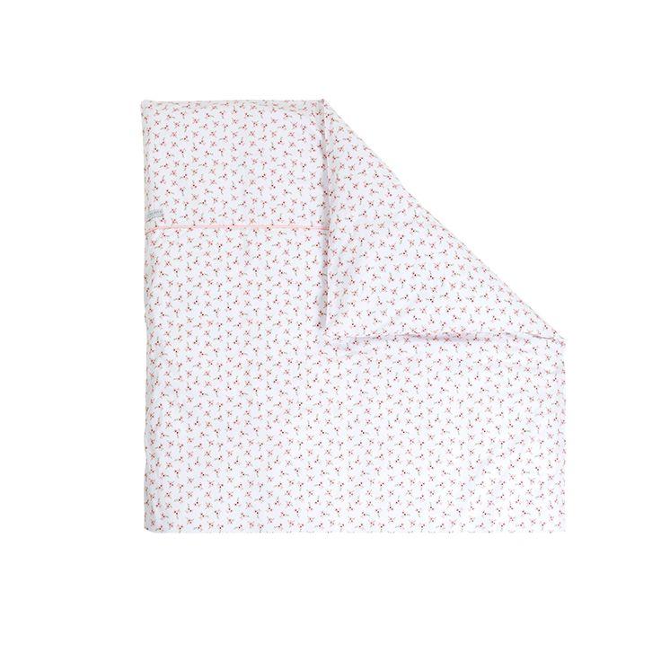 Kissenbezug peach poppy Gr. 80x80 cm