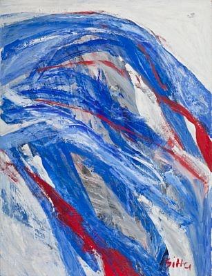 Sitter, Inger - Komposisjon, 2002 / Vinterens Moderne 2013 / Klassisk auksjon - Blomqvist Kunsthandel