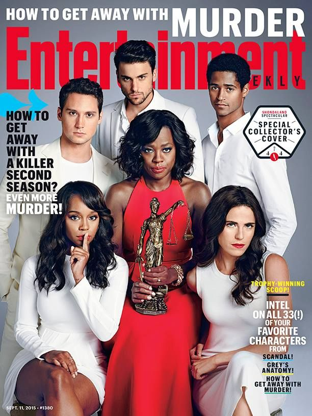 The Cast of How To Get Away With Murder Covers ...