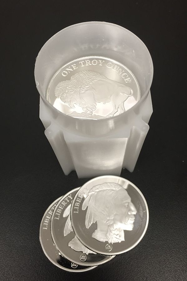 Buy 1 Oz Silver Buffalo Rounds Online Money Metals Silver Spot Price Rare Coins Worth Money Silver Bullion