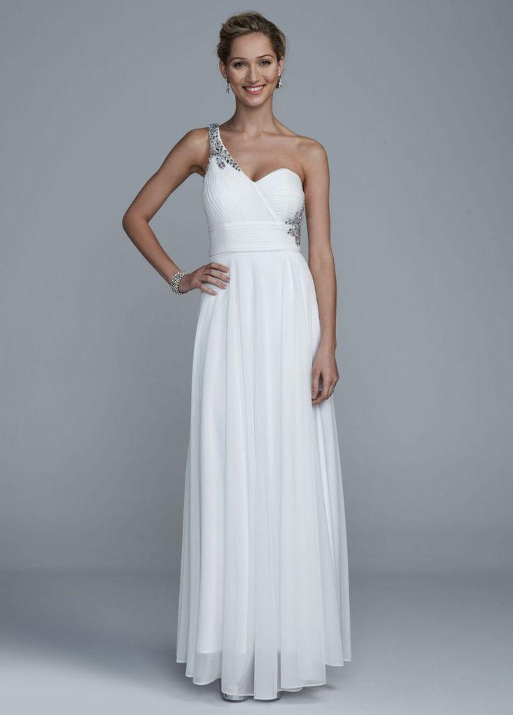 Davids Bridal One Shoulder Dress – fashion dresses