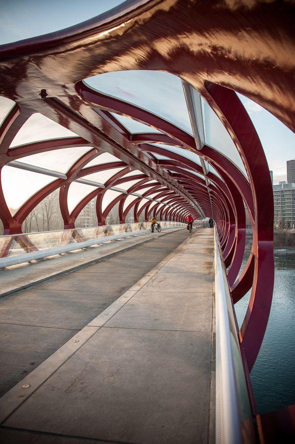 Santiago Calatrava - Peace Bridge, Calgary