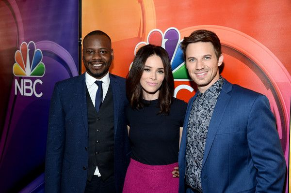 Matt Lanter Photos Photos - (L-R) Actors Malcolm Barrett, Abigail Spencer and Matt Lanter attends the  NBCUniversal press day during the 2016 Summer TCA Tour at The Beverly Hilton Hotel on August 2, 2016 in Beverly Hills, California. - 2016 Summer TCA Tour - NBCUniversal Press Tour Day 1 - Arrivals