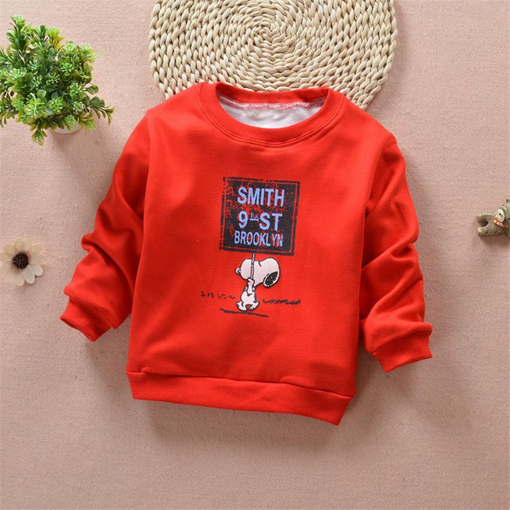 Autumn Winter Baby Boy Girl T Shirts O-neck Casual Tops Tee Long Sleeve Kids Clothes Boys Girls Next T-Shirt Children Clothing #Affiliate