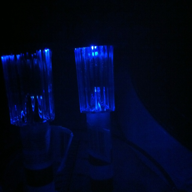 Easily change your white led solar lights to colored light for Solar lights for craft projects