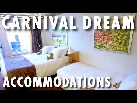 ▶ Carnival Dream Review and Tour: Accommodations ~ Carnival Cruise Lines ~ Cruise Ship Review and Tour – PopularCruising.com